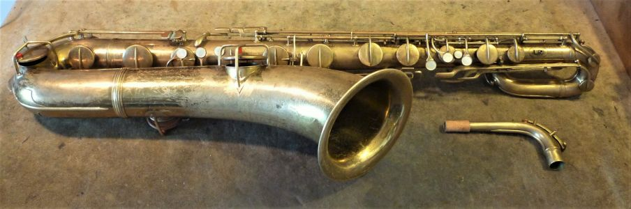 Conn New Wonder baritone restored 1926