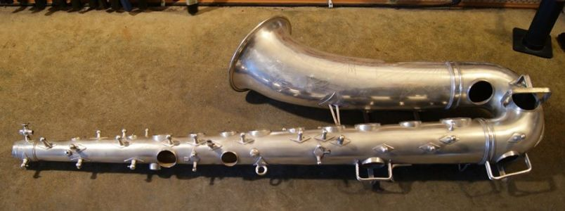 Sax after gentle and accurate hand polishing