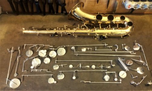 Sax Ready For Complete Overhaul