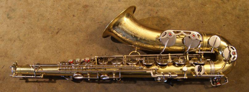 Restored saxophone